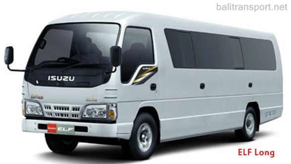 bali transport with Isuzu ELF
